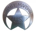 Deputy United States Marshal Badge 2